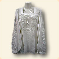 Embroidered  woman blouse